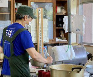長崎市からの調理員さん。
