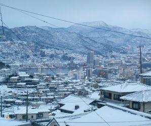 長崎の雪景色~Lian南が丘~
