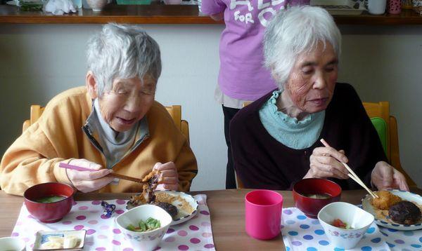 1番館の昼食おはぎ会