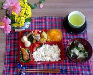 あいりん1番館のお弁当の日