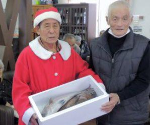 上五島町漁協様よりクリスマスプレゼント