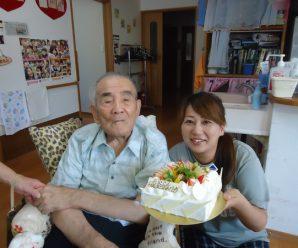 86歳のお誕生日会♪2番館