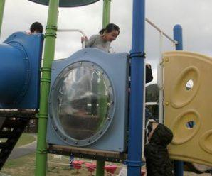 大浦の公園へ🚙スマイルキッズ