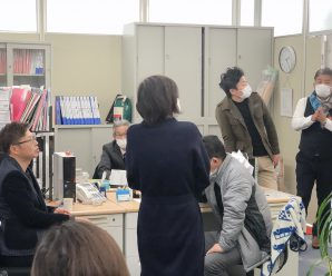 2012年1月15日幹部会議📒~長崎総務課~