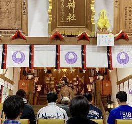 政彦神社参拝⛩/上五島総務課